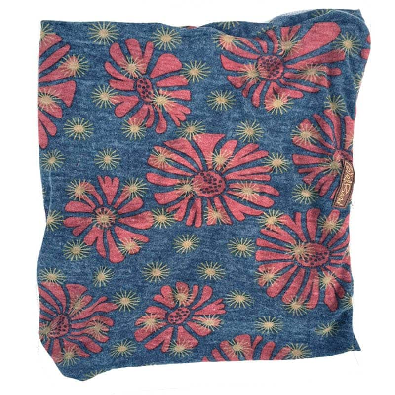 Red Daisy on Blue Band